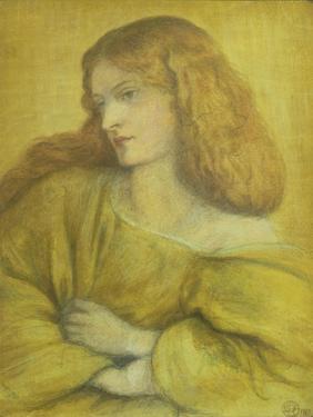 Woman in Yellow by Dante Gabriel Rossetti