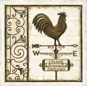 Weathervane Wisdom II by Daphné B