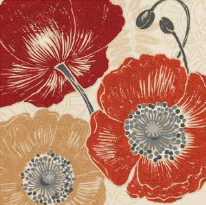A Poppys Touch II by Daphne Brissonnet