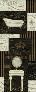 Bain De Luxe Collage II by Daphne Brissonnet