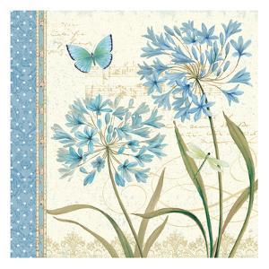 Blue Melody III by Daphne Brissonnet