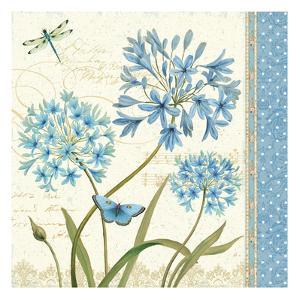 Blue Melody IV by Daphne Brissonnet