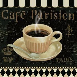 Cafe Parisien I by Daphne Brissonnet