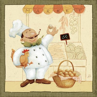 Chef's Market I by Daphne Brissonnet