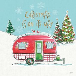 Christmas in the Country V On Its Way by Daphne Brissonnet