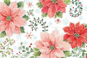 Country Poinsettias I by Daphne Brissonnet