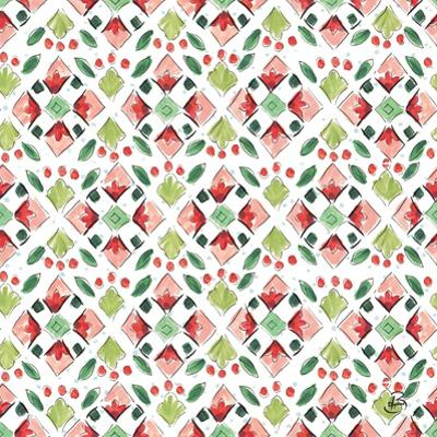 Country Poinsettias Step 05A by Daphne Brissonnet