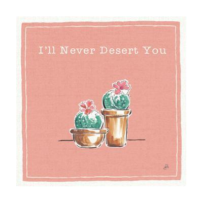 Desert Bloom XI You by Daphne Brissonnet