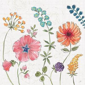 Gypsy Meadow III by Daphne Brissonnet