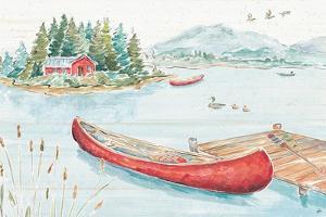 Lake Moments II by Daphne Brissonnet