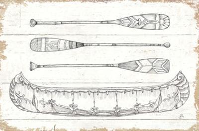 Lake Sketches I by Daphne Brissonnet