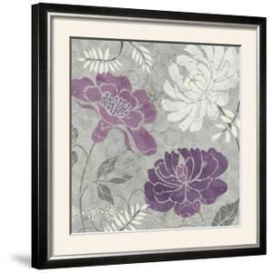 Morning Tones Purple I by Daphne Brissonnet