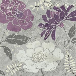 Morning Tones Purple II by Daphne Brissonnet