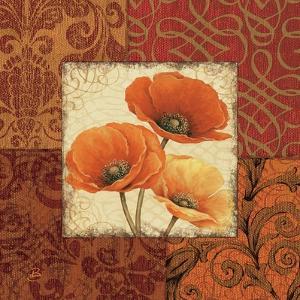 Poppy Spices I by Daphne Brissonnet