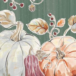 Pumpkin Patch II Dark by Daphne Brissonnet