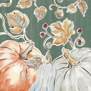 Pumpkin Patch III Dark by Daphne Brissonnet