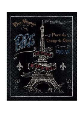 Travel to Paris I by Daphne Brissonnet