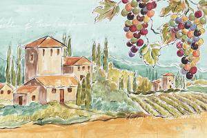 Tuscan Breeze I No Poppies by Daphne Brissonnet
