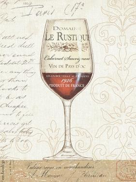 Wine by the Glass I by Daphne Brissonnet