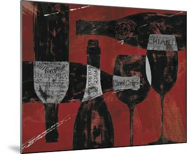 Wine Selection III Red by Daphne Brissonnet