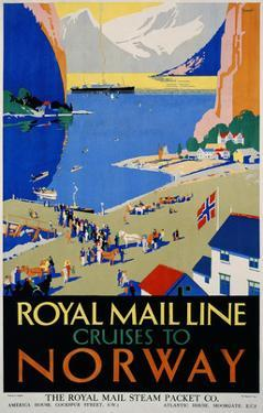 Royal Mail Cruises, Norway by Daphne Padden