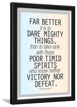 Dare Mighty Things Teddy Roosevelt