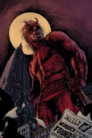 Daredevil By Ed Brubaker Saga Cover: Daredevil