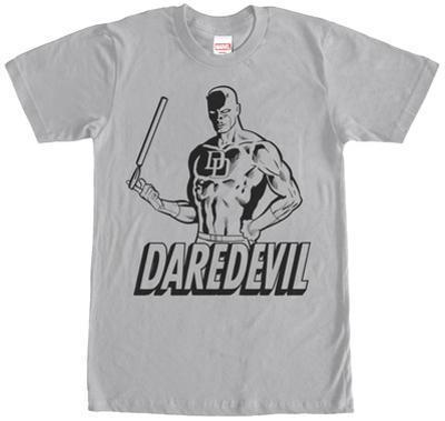 Daredevil- Hero Stencil