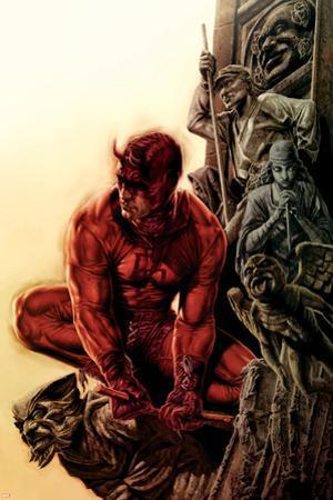 Daredevil No.100 Cover: Daredevil