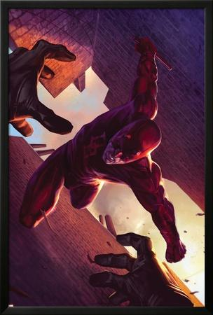 Daredevil No.103 Cover: Daredevil