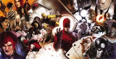 Daredevil No.500 Cover: Daredevil and Kingpin