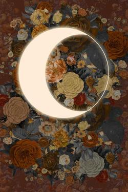 Dark Floral Lunar Eclipse