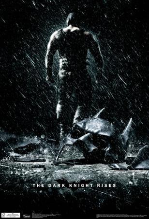 Dark Knight Rises Bane Movie Poster