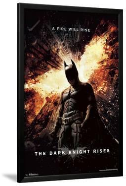 DARK KNIGHT RISES - ONE SHEET