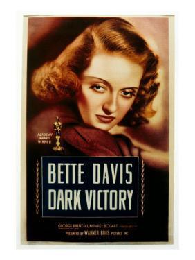 Dark Victory, Bette Davis, 1939
