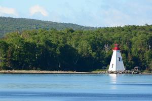 Scenic View of the Kidston Island Lighthouse by Darlyne A. Murawski