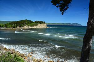 Scenic View of White Point and Aspy's Bay in Cape Breton, Nova Scotia by Darlyne A. Murawski
