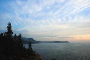 Sunrise Along the Rocky Maine Coastline in Acadia National Park by Darlyne A. Murawski