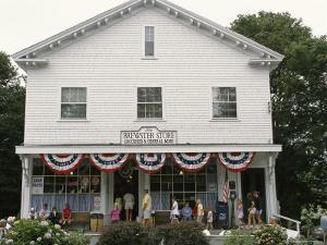 Tourists at the Brewster General Store During Summer Season by Darlyne A. Murawski
