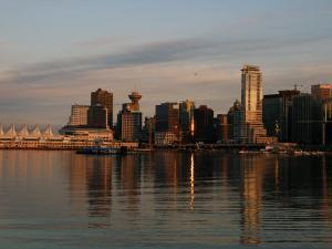 View of the Waterfront and Downtown Vancouver in the Late Afternoon by Darlyne A. Murawski