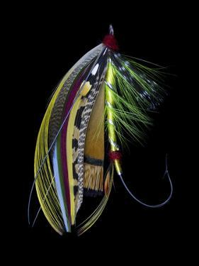 Atlantic Salmon Fly designs 'Green Doctor' by Darrell Gulin