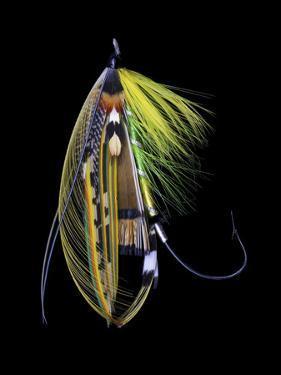 Atlantic Salmon Fly designs 'Green Highlander' by Darrell Gulin