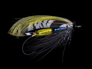 Atlantic Salmon Fly designs 'Highland Gem' by Darrell Gulin