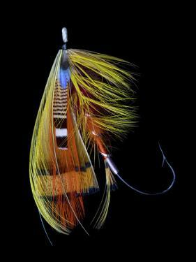 Atlantic Salmon Fly designs 'Orange Parson' by Darrell Gulin