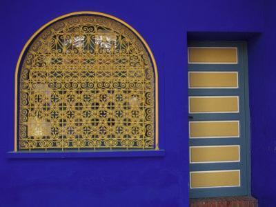 Doorway in Jardin Majorelle, Marrakech, Morocco by Darrell Gulin