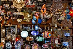 Grand Bazar in Istanbul, Turkey by Darrell Gulin