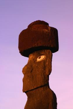 Moai at Sunrise by Darrell Gulin