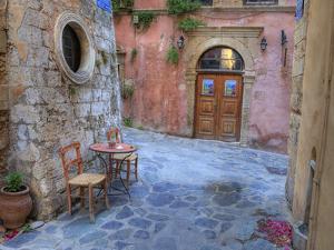 Old Harbor, Chania, Crete, Greece by Darrell Gulin