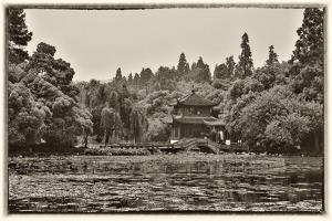 Pagoda Along the Waterfront West Lake, Hangzhou by Darrell Gulin