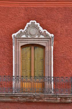 San Miguel De Allende, Mexico. Colorful buildings and windows by Darrell Gulin